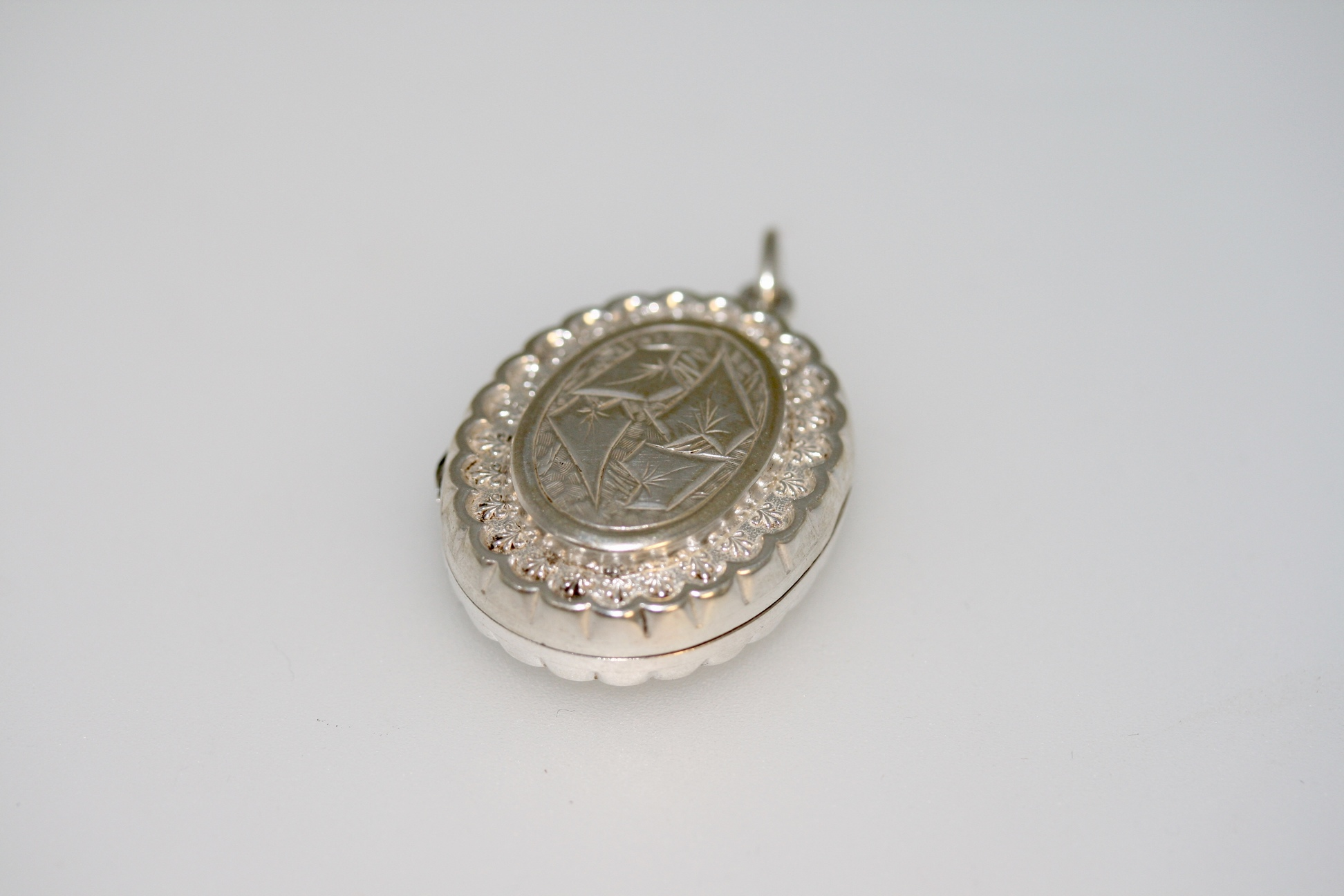 A Victorian Silver Locket – Circa 1890