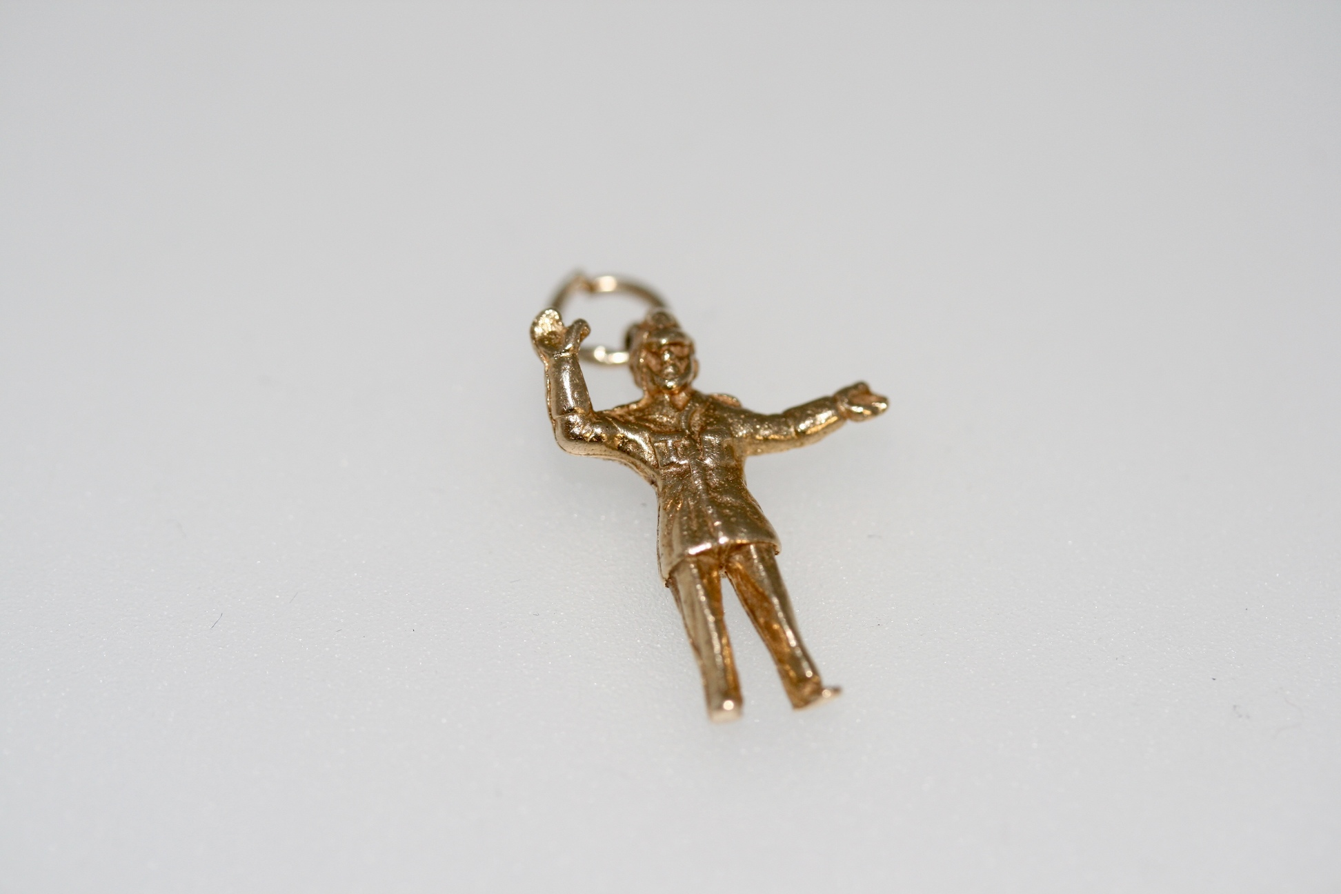 9ct Gold Police Constable Charm