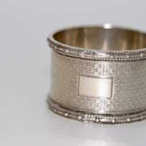 A Silver Napkin Ring, Birmingham 1944