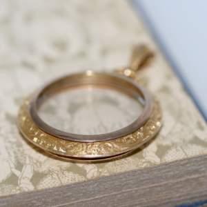 15ct Gold Victorian Glazed Locket
