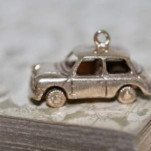 A 1960's 9ct Yellow Gold 'mini' Car Charm
