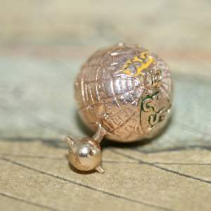 9ct Gold Moon And Earth Charm
