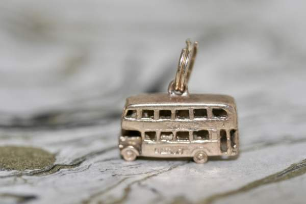 9ct Gold London Bus Charm