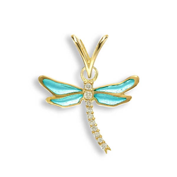 18ct dragonfly